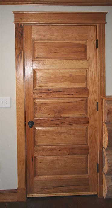 Craftsman 5 Panel Door In Hickory