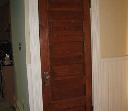 Old House Interior Door Styles - Salvaged House Parts