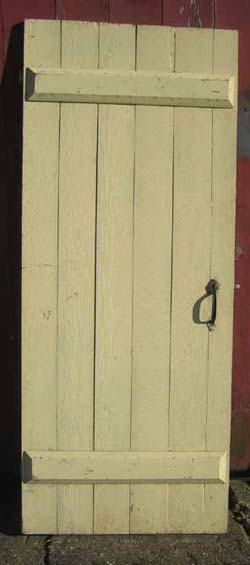 & board and batten door