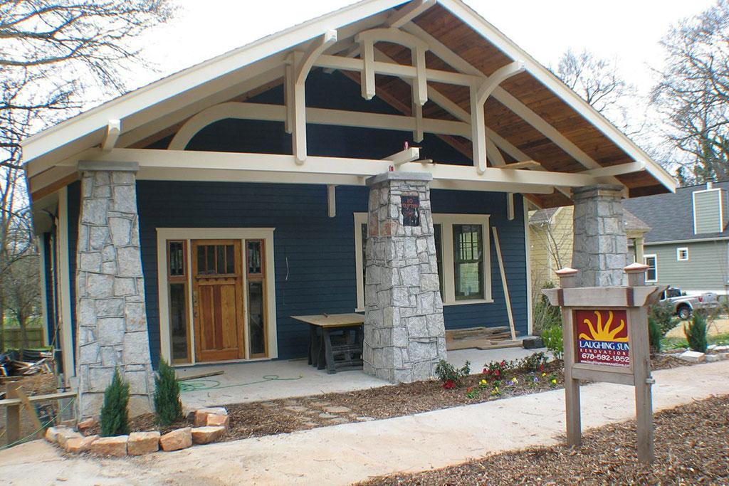 The dragonfly house for New construction craftsman homes