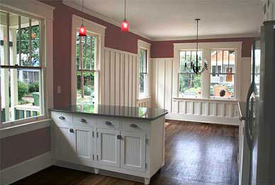 modern farmhouse kitchen   kara o'brien renovations   atlanta, ga