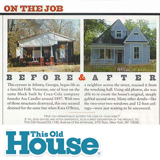 This old house magazine may 2003 for Classic house 2003