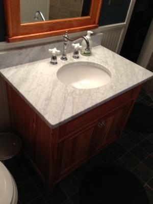 Italian marble top