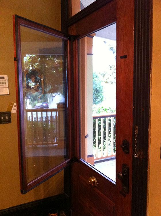 Custom Woodworking   Doors