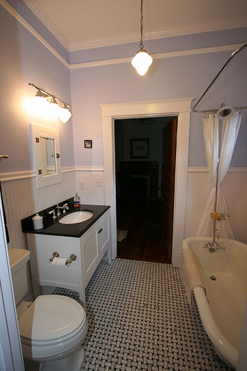 traditional white bathrooms traditional black amp white bathroom 14803